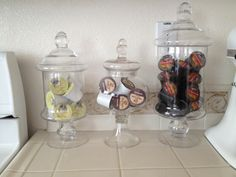K-cup storage Keurig Coffee--I don't have one but if I did, this would be cute