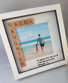 Best Birthday Presents For Dad From Daughter Families Id.- Best Birthday Presents For Dad From Daughter Families Ideas baby mothers day gifts, infant fathers day gift, fathers day toddler gifts - Diy Gifts For Dad, Diy Father's Day Gifts, Father's Day Diy, Diy Presents, Daddy Gifts, Presents For Dads, Fathers Day Presents, Gifts For Fathers Day, Good Presents For Dad