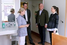 La Cour Royale Suedoise: La dernière visite officielle avant le bebe