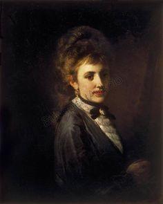 Munkácsy Mihály (1844-1900) - Női portré