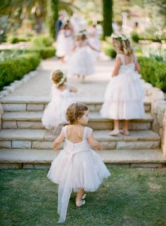 The cutest flower girls: http://www.stylemepretty.com/collection/2127/