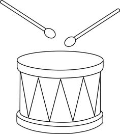 Musical instrument coloring pages | coloring pages | Pinterest ...