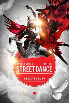 Create a Captivating Street Dance Competition Poster with Photoshop - https://wp.me/p4R2sX-5cQ