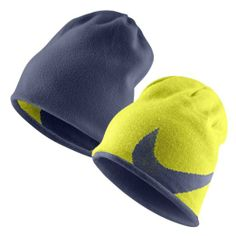 733654c7a9c Amazon.com  Nike Winter Reversible Knit Fleece Golf Beanie Hat High  Voltage  Sports   Outdoors