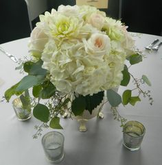 hydrangea & peonies Hydrangea, Peonies, Our Wedding, Wedding Flowers, Paeonia Lactiflora, Wedding Ceremony Flowers, Bridal Flowers, Hydrangea Macrophylla