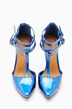 Shoe Cult On Point Pump in Blue #ShoeCult