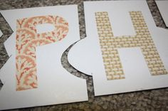 homemade name puzzle - happy hooligans - learn to spell activity --- Create your own puzzle with letters to help the students spell. They may not be able to spell but they can figure out the puzzle.