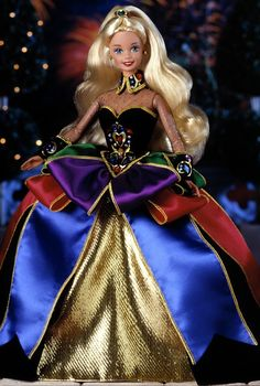 Midnight Princess Barbie Doll - Special Occasion - 1997 Winter Princess Collection - Barbie Collector