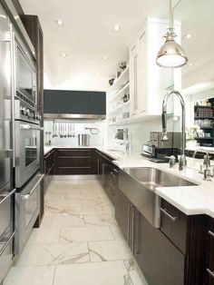 Amazing Houzz Galley Kitchen Designs #2: 488058d6adcec174bffaaafd34cc47f3.jpg