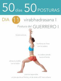 50 d�as 50 posturas. D�a 11. Postura del Guerrero I