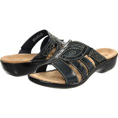 0efa50316d0b Clarks - Ina Angie Navy Sandals Navy Sandals