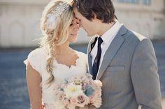 Romantic, Dreamy Bridal Shoot In The Utah Desert