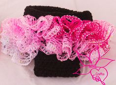 MNE Crafts: Ruffles Galore Newborn Diaper Cover