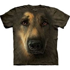 For all lovers of German shepherd! The Mountain offers you the amazingly realistic 'Dog 3-D Tee Shirts German Shepherd Portrait T-Shirt The Mountain'. Made from preshrunk 100% cotton and hand-dyed with eco-friendly inks in the USA, the dog shirt is comfortable to wear. You will get lots of compliments wearing this amazing tee. Perfect gift! Shop now at the clothingmonster.com!