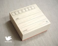 Date and Notes Stamp -  Sello notas y fecha