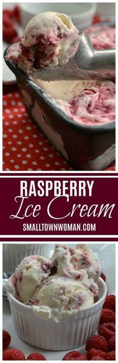 New Fruit Tart Dessert Raspberries Ideas Ice Cream Desserts, Mini Desserts, Frozen Desserts, Ice Cream Recipes, Frozen Treats, Homemade Desserts, Raspberry Recipes, Fruit Recipes, Dessert Recipes