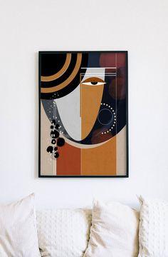 Modern Art Paintings, Modern Art Prints, Wall Art Prints, Portrait Paintings, Abstract Face Art, Abstract Portrait, Painting Abstract, Acrylic Paintings, Diy Canvas Art