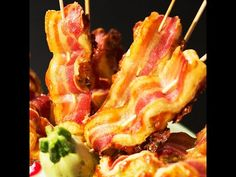 Bacon and Puff Pastry Skewers - http://www.bestrecipetube.com/bacon-and-puff-pastry-skewers/