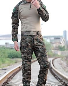31.15$  Watch here - http://aliou5.shopchina.info/go.php?t=32615195364 - Top Quality Tactical Combat Uniform Gen 2 shirt + pants Military Army Pants with knee pads Size M-XXL  #SHOPPING