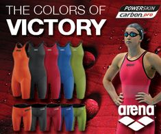 The Colors of VICTORY. Arena powerskin carbon pro.