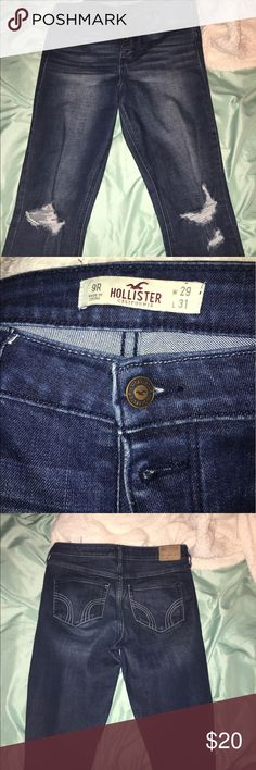 Blue jeans Skinny blue hollister jeans Hollister Jeans Skinny