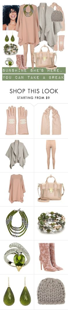 """Sunshine...Take A Break"" by kaylyn-80864 ❤ liked on Polyvore featuring Chanel, Brunello Cucinelli, Burberry, Boohoo, Valentino, 3.1 Phillip Lim, New Directions, Gianvito Rossi, Michael Kanners and Eugenia Kim"