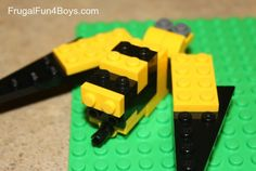 Week #18  Lego Club Fun Friday Challenge:  Build a Bug and tell us if it a friend or foe to us.