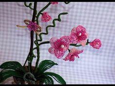 Орхидея из бисера. Мастер-класс. Часть 1/2. Нow to make orchid flower - YouTube