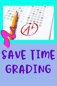 Are you taking home work nights and weekends leaving you stressed and tired? Save time grading by considering different types of assignments and reduce your grading. Spend more time with your students analyzing their strengths and misconceptions instead of worrying about papers.
