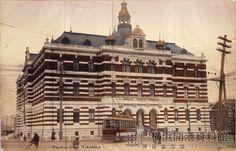 横浜市役所。1911年(明治44)竣工