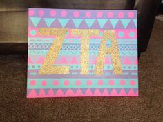 Aztec ZTA canvas!