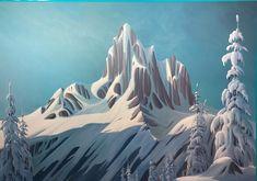 Ken Harrison - Black Tusk Melt Down 60 x 72 Oil on canvas (2021) I Smile, Make Me Smile, Oil On Canvas, Mountains, Landscape, Artist, Nature, Travel, Black