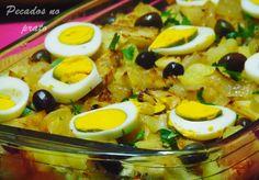Bacalhau Recipes, Portuguese Recipes, Food Art, Eggs, Breakfast, Ethnic Recipes, Html, Portugal, Album