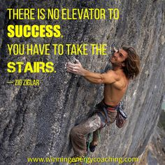 Or climb the mountain! Either way, success all depends on you!