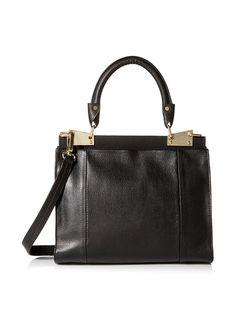 Foley + Corinna Women's Dione Top Handle Satchel, Black, http://www.myhabit.com/redirect/ref=qd_sw_dp_pi_li?url=http%3A%2F%2Fwww.myhabit.com%2Fdp%2FB00SYLNMVG%3F