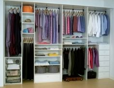 This would fit in our closet if we turned it into 3 sections, plus on this website there is a tie rack i like for Randy. No more wasted space