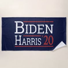 Election 2020 - Biden Harris I Beach Towel #Politics Biden Harris 2020 logo, Joe Biden, Joe Biden Funny #joebiden #joebiden2016 #joebidenmemes, back to school, aesthetic wallpaper, y2k fashion