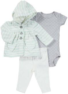 Amazon.com: Carter's Baby Girls Micro Cardigan: Clothing
