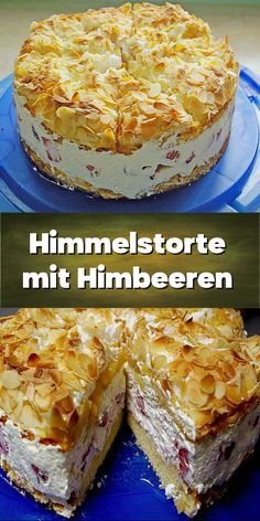 Himmelstorte mit Himbeeren - oder Schwimmbadtorte. Funny Cake, Cake & Co, Mellow Yellow, Sweet Bread, Cakes And More, Cake Cookies, Good Food, Food And Drink, Sweets