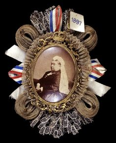 Queen Victorias Commemorating Brooch Diamond Jubilee, 1897