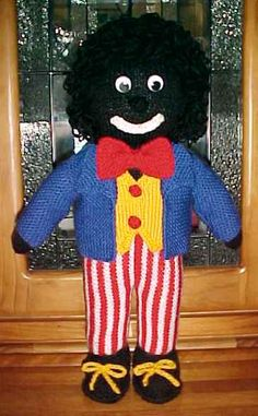 Golliwog Knitting Patterns Free Patterns Knitting