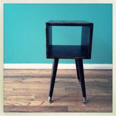 Modern end table by WorkBenchDesigns on Etsy, $150.00