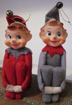 """Kneehuggers or as I know them """"Elf on the Shelf"""""""