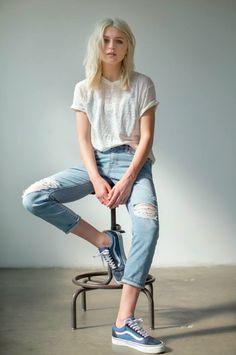 Blusa blanca aero
