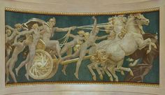 John Singer Sargent, Apollo in His Chariot with the Hours, 1922–25.