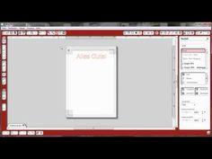 ▶ Text ausdrucken mit Print and Cut in Silhouette Studio - YouTube