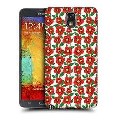 Head Case Poppy Bloom Protective Snap on Case for Samsung Galaxy Note 3 | eBay