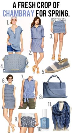 jillgg's good life (for less) | a style blog: a fresh crop of chambray for spring!