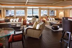 Terence Disdale - Luxury Motor Yacht - 72m - Lounge