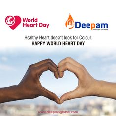 Pledge to create healthy heart environments for a healthier life ahead. #WorldHeartDay2019 #WorldHeartDay #HeartDay #DeepamGlobal www.deepamglobal.com Healthy Heart, Healthy Life, World Heart Day, Environment, Create, Happy, Healthy Living, Happiness, Healthy Lifestyle